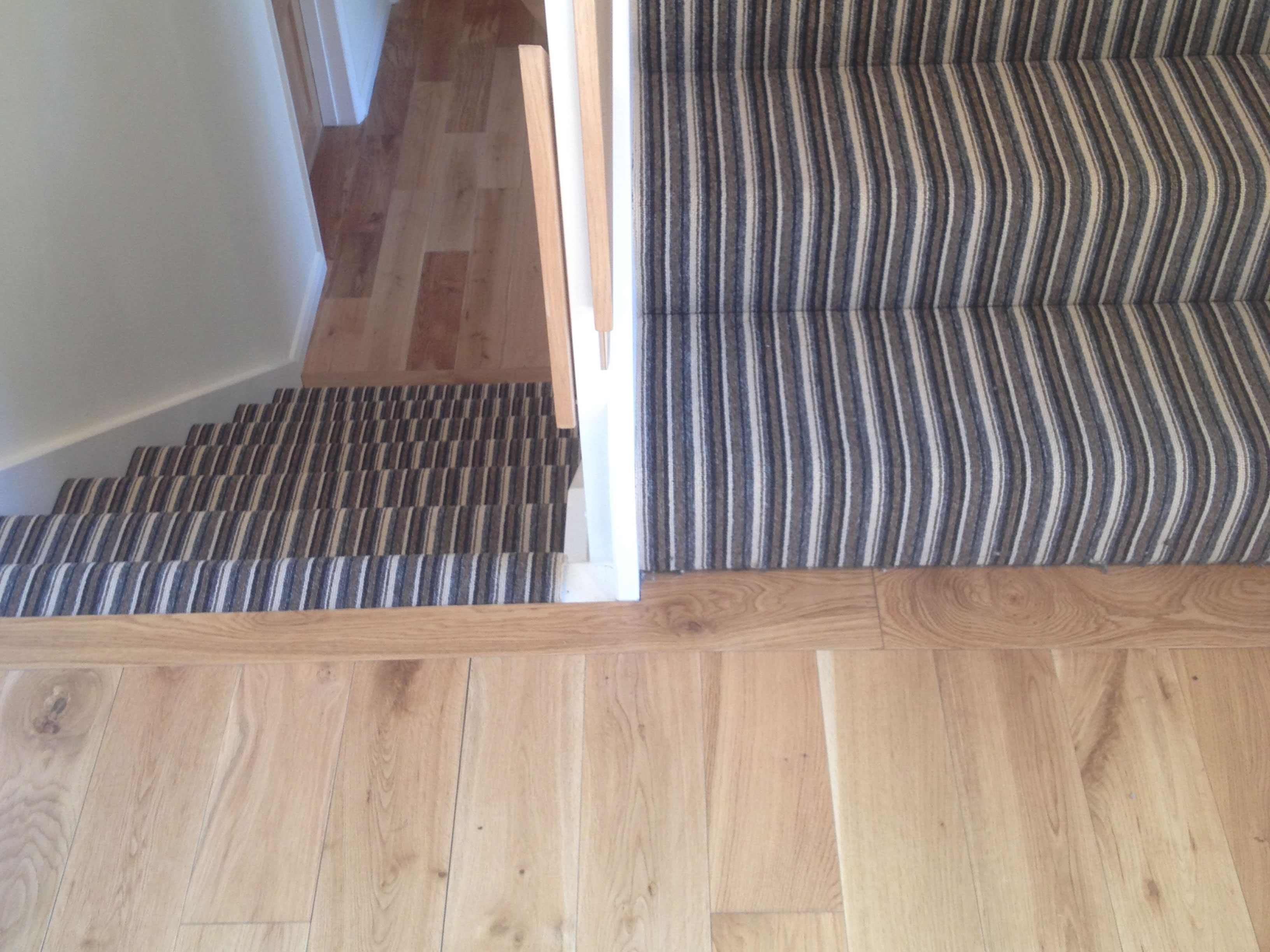 Harley color carpet tiles - Customer Clare Harley